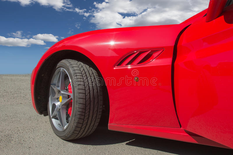 Download Red sports car stock image. Image of clean, modern, bright - 83712327