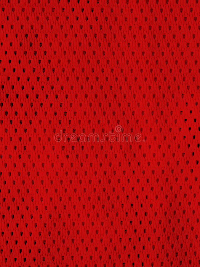 Download Red sports jersey stock photo. Image of equipment, background - 33250106