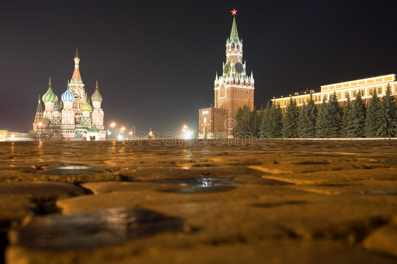 Download Red square stock photo. Image of horizontal, domes, architecture - 2305000