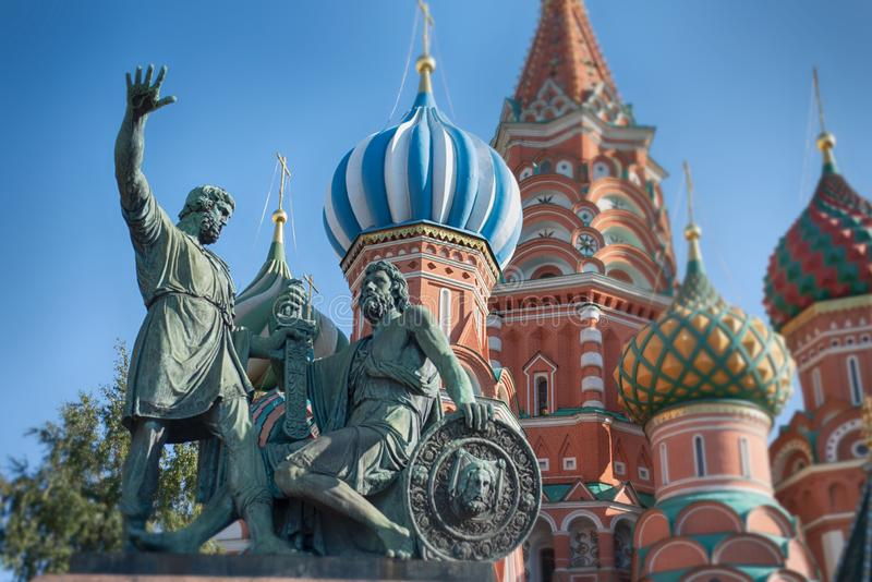 Red Square in center Moscow royalty free stock photos