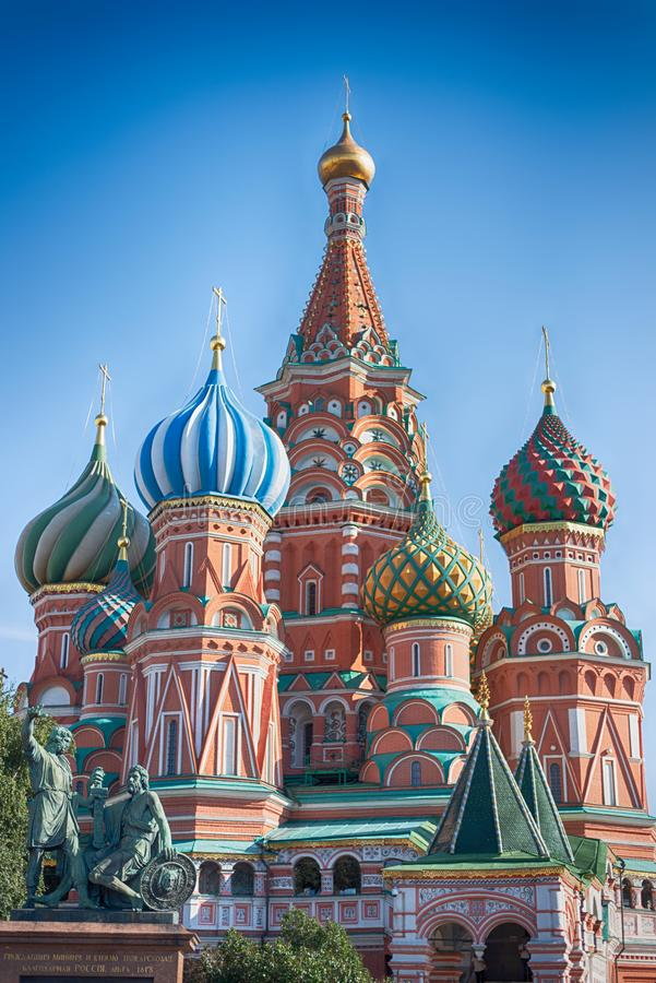 Red Square in center Moscow royalty free stock image
