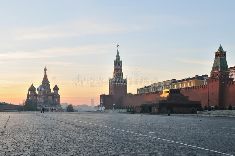 Download Red Square in Moscow stock photo. Image of cupola, cloud - 29280404