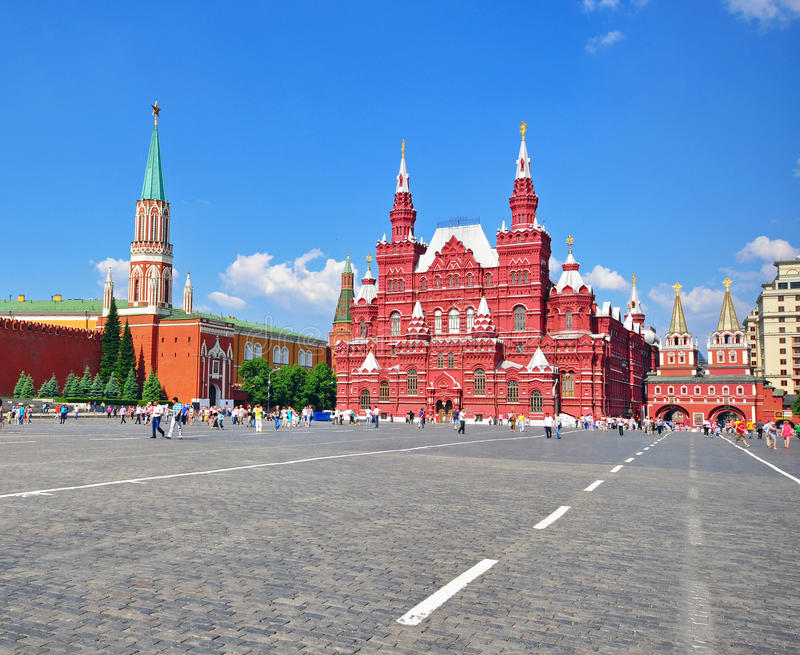 Download Red Square, Moscow stock image. Image of cityscape, square - 40968397