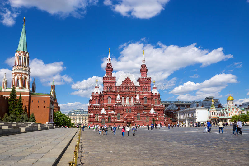 The Red Square, Moscow, Russia royalty free stock images
