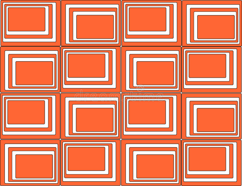 Download Red squares background stock vector. Image of pattern, intense - 305809
