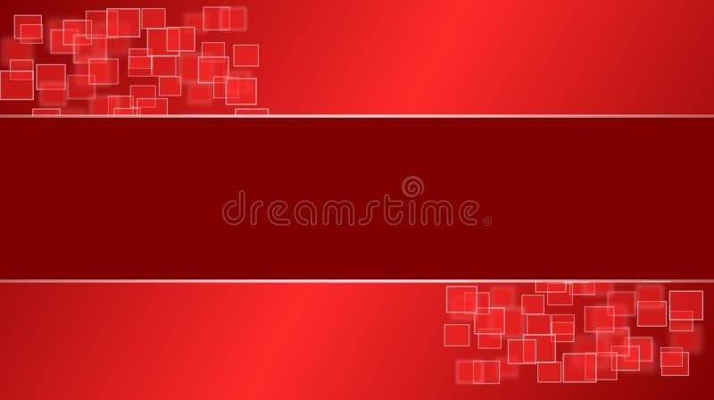 Red Squares Desktop royalty free stock images