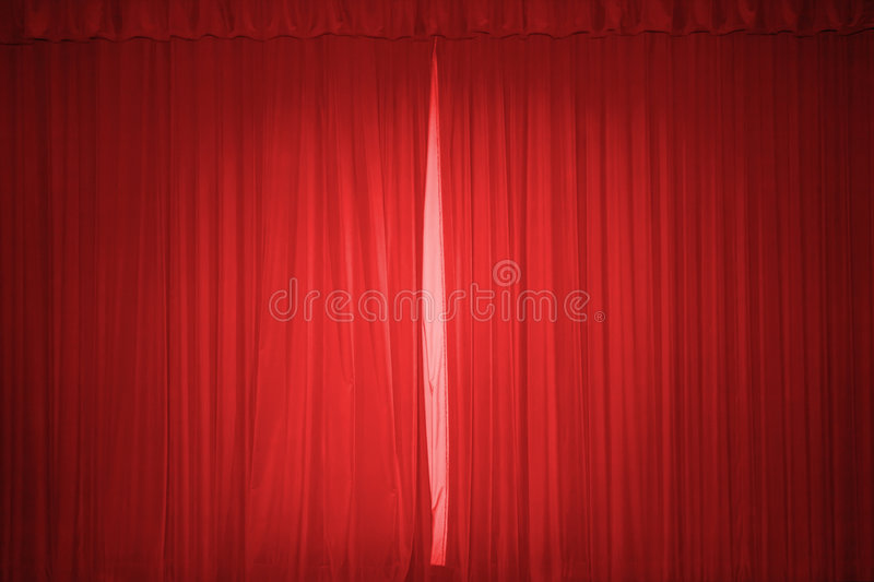 Download Red stage curtain stock image. Image of movie, textile - 4772881