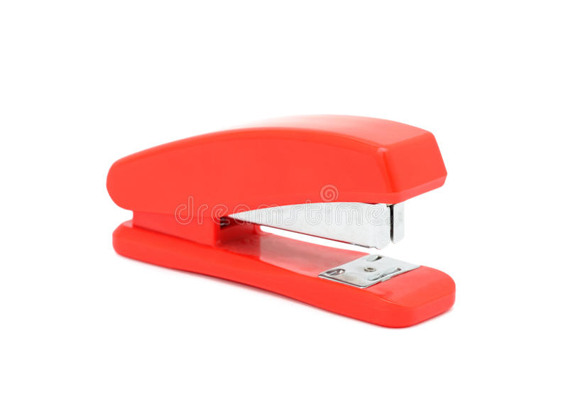 Download Red stapler, isolated stock image. Image of desk, equipment - 11881385