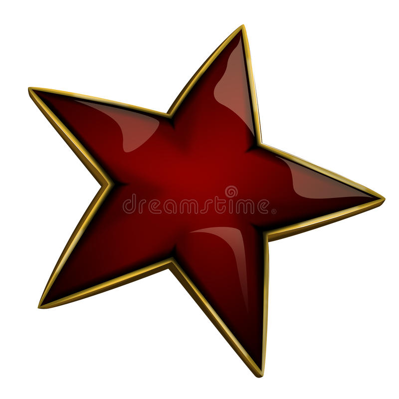 Red Star stock image