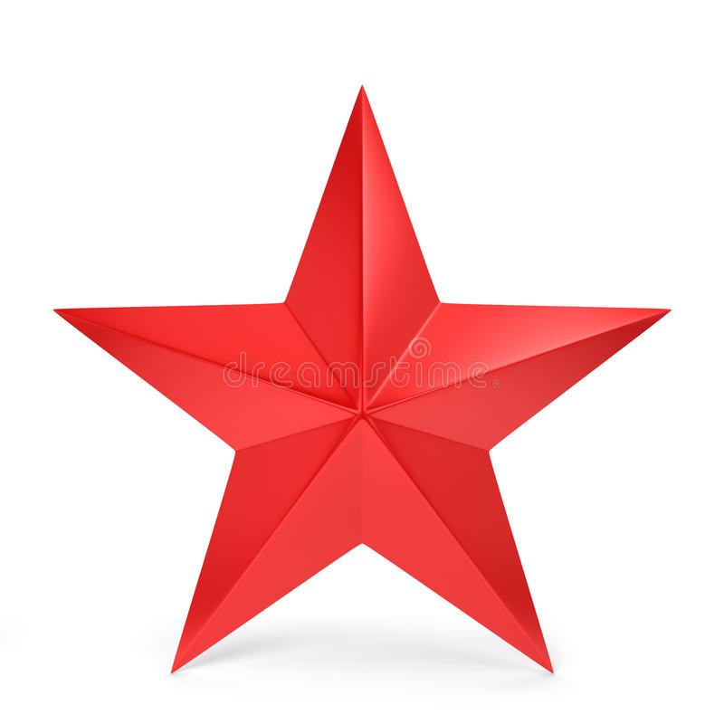 Free Red Star Stock Photography - 45270202