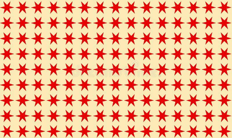 Red star seamless pattern background. royalty free stock photo