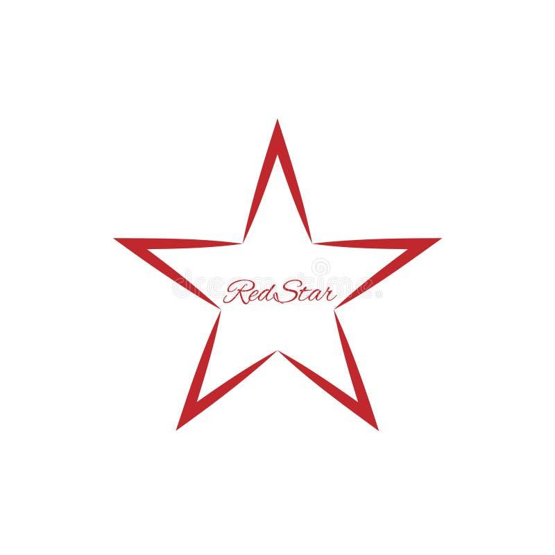 Red Star Symbol Stock Vector Illustration Of Element 98467993