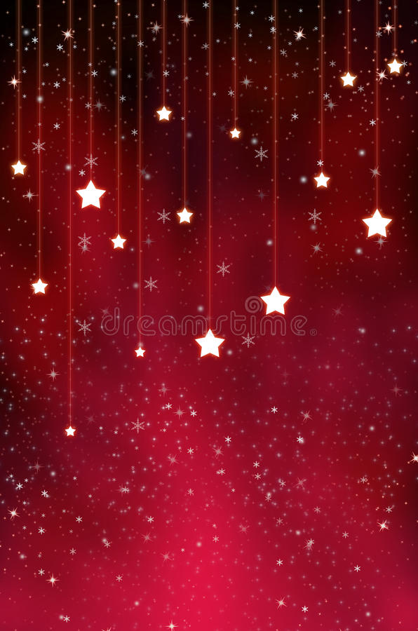 Red Stars Background. Abstract background blob blur bokeh bright royalty free stock photos