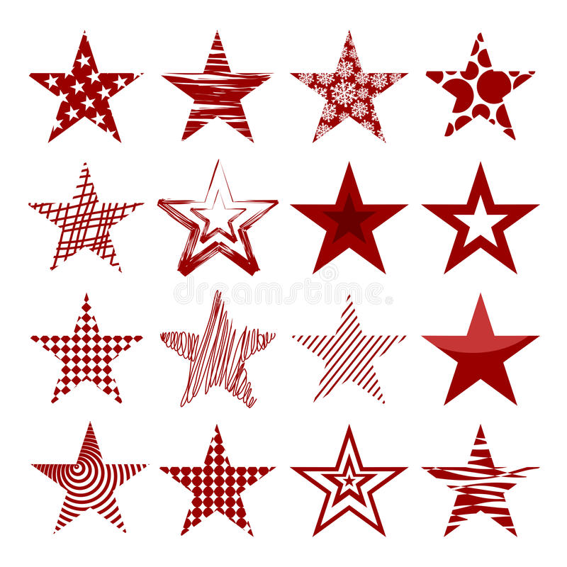 Download Red Stars Royalty Free Stock Photography - Image: 34823877