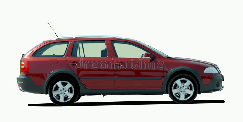 Finest Red station wagon stock photo. Image of metal, efficiency - 31510624 KF78