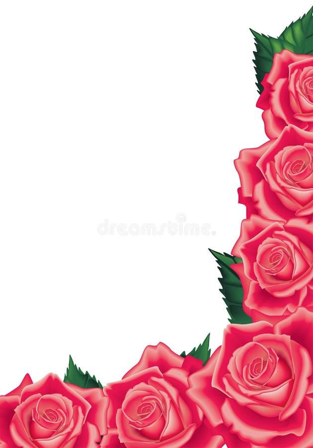 red steg stock illustrationer