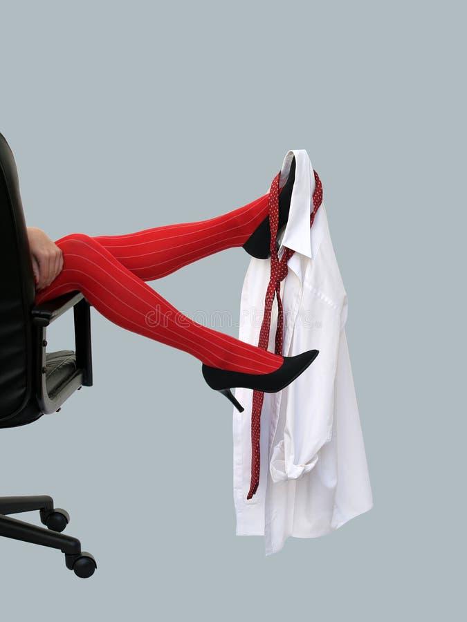 Red stockings royalty free stock photos