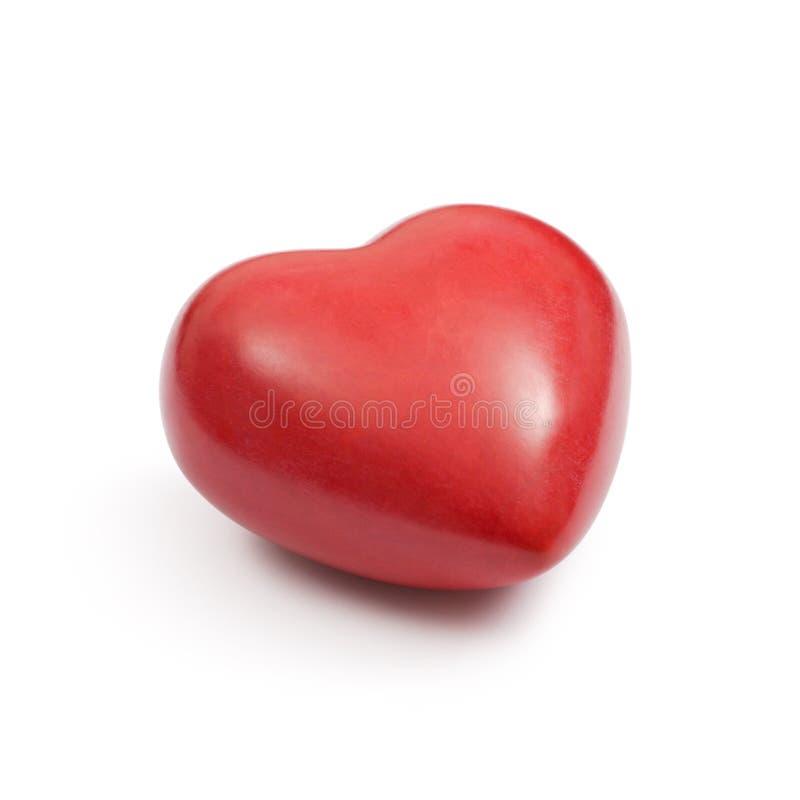 Free Red Stone Heart Stock Photo - 17431760