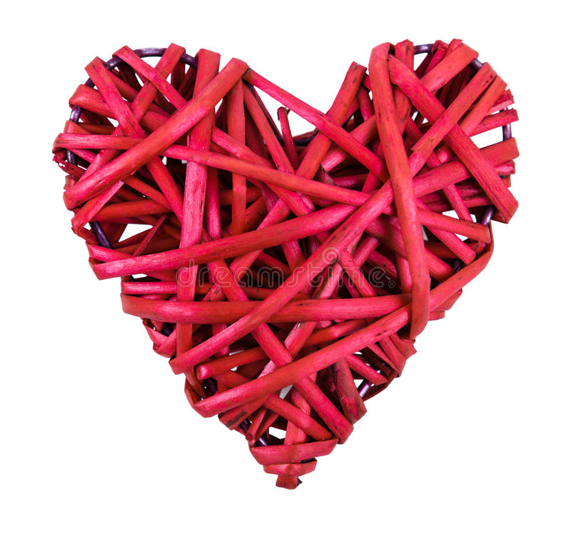 Download Red Straw Heart Royalty Free Stock Images - Image: 29022129