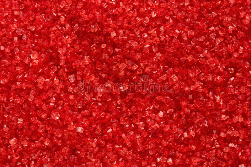 Red Sugar Stock Images