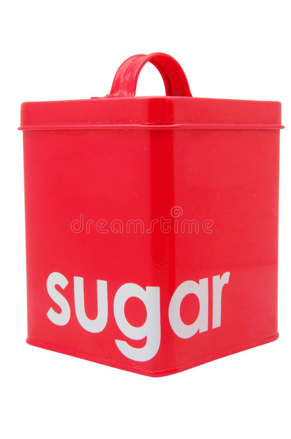 Download Red sugar Container stock image. Image of metallic, white - 30590305