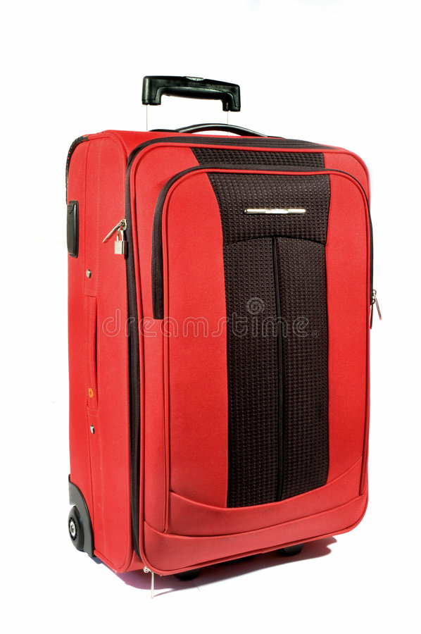 Download Red suitcase stock image. Image of leisure, baggage, icons - 454425