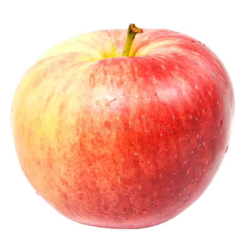 Download Red sweet apple stock photo. Image of fresh, isolated - 10958706