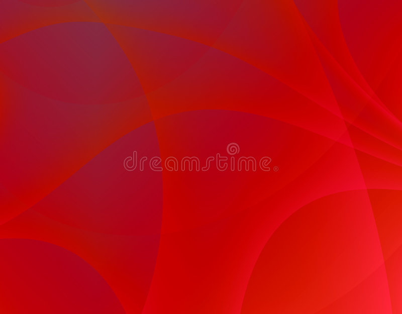Red swirl stock photography