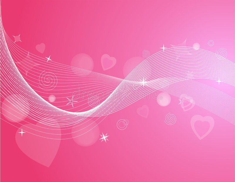Red Swirl Background vector illustration