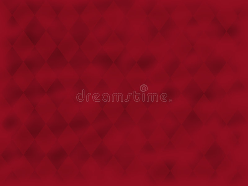 Red Swirled Diamonds royalty free stock photos