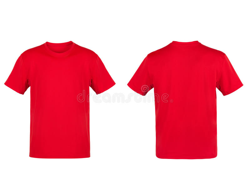 Red T-shirt royalty free stock photography