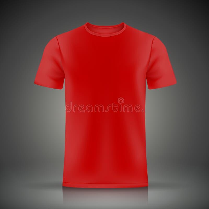 red t shirt template stock vector illustration of sleeve 46751049. Black Bedroom Furniture Sets. Home Design Ideas