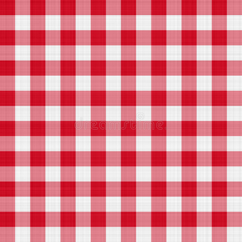Red Table Cloth Royalty Free Stock Images