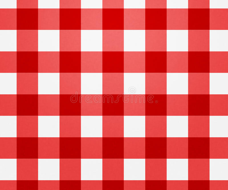 Red Tablecloth Texture Royalty Free Stock Photography
