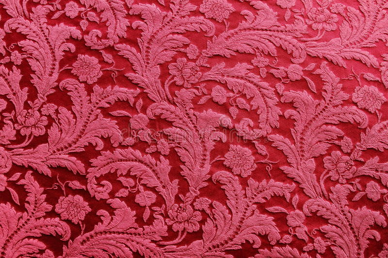 Red Tapestry stock photography