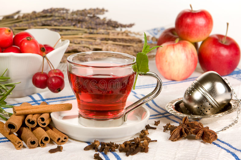 Download Red tea stock photo. Image of plant, green, healthy, organic - 7250240