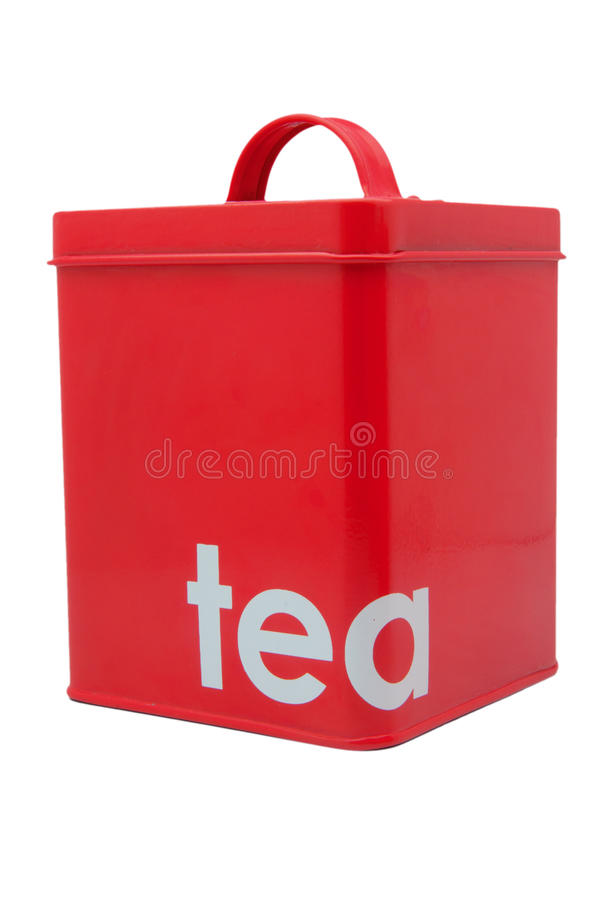 Download Red Tea Container stock photo. Image of isolated, storage - 30447742