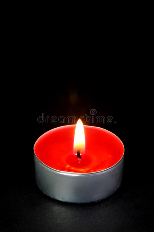 Download Red Tealight Candles stock image. Image of candle, tealight - 10421741