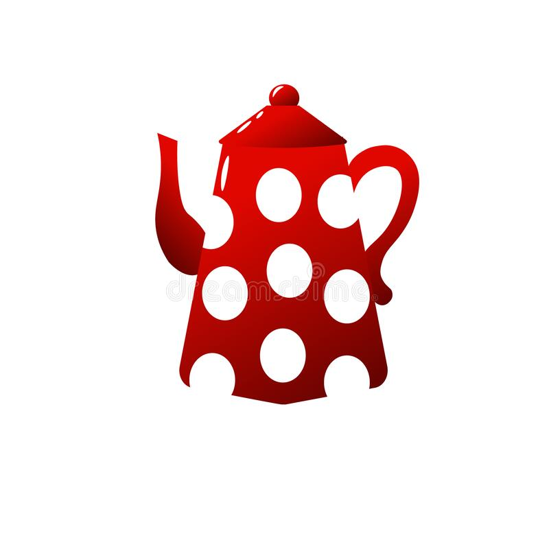 Red Teapot Stock Illustrations 3 525 Red Teapot Stock