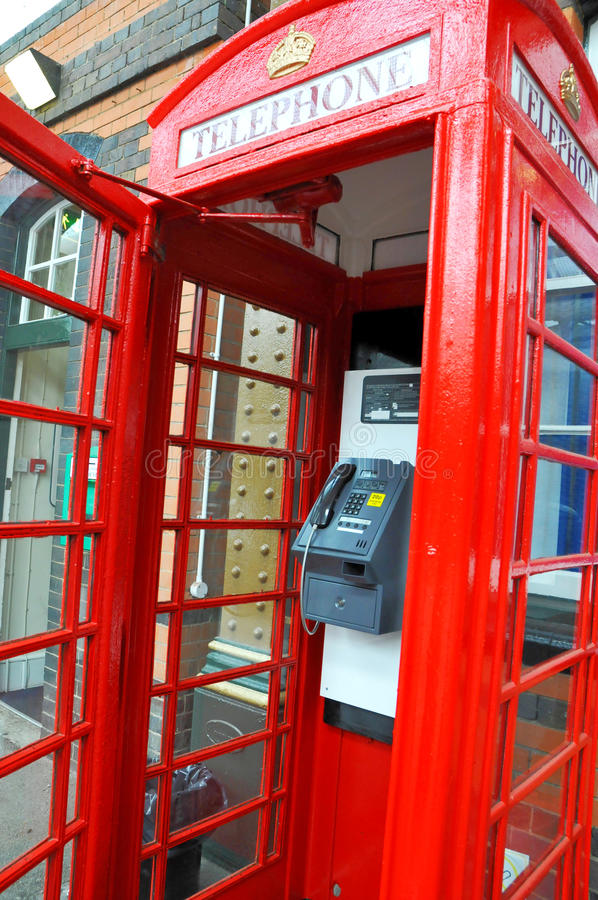 Download Red telephone box stock image. Image of pavement, england - 23612677