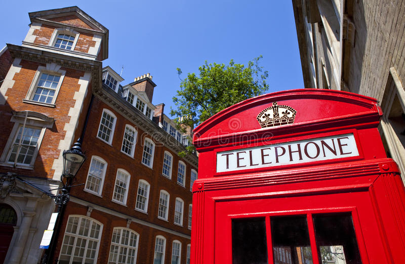Download Red Telephone Box In London Stock Image - Image: 32402521