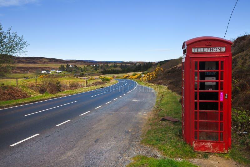 Communication is everywhere, Isle of Skye, UK royalty free stock photo