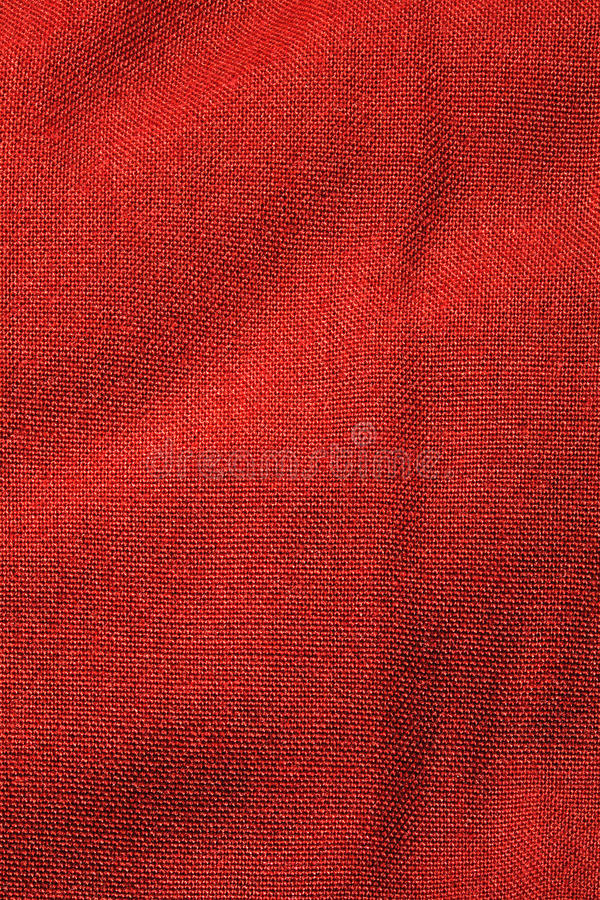 Red textile stock image