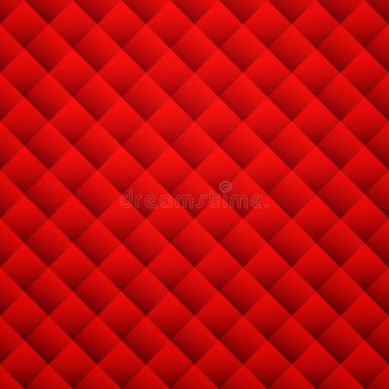 Red texture background. Leather seamless pattern royalty free illustration