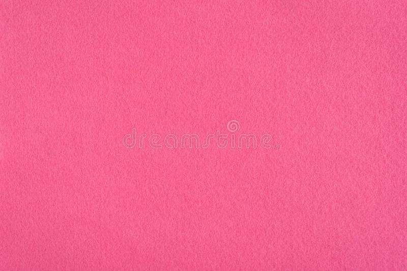 Pink texture felt background. royalty free stock photo