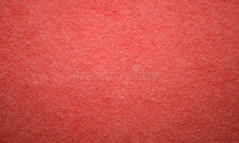 Red texture from the foam sponge surface royalty free stock photos