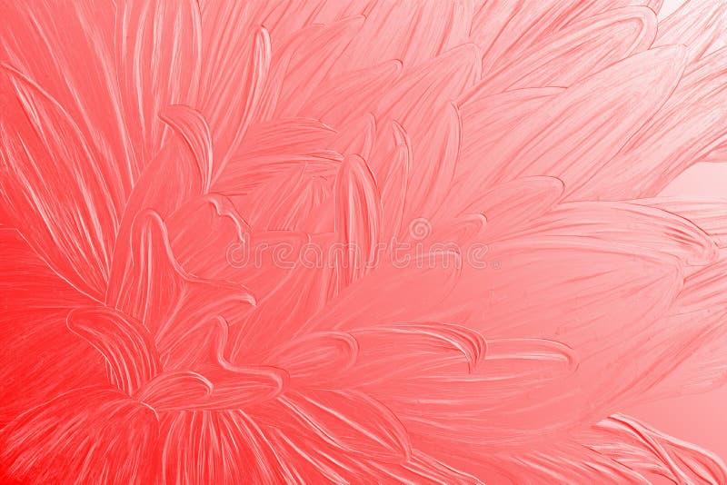 Red textured flower closeup