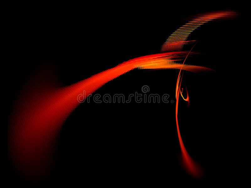 Download Red Textured Streak On Dark Background Stock Illustration - Image: 1368282