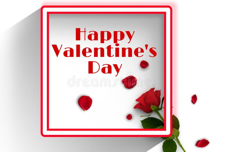 Red texure designed background of valentines day stock illustration