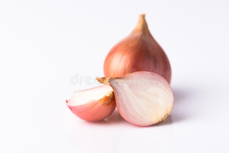 Red thai onion royalty free stock images